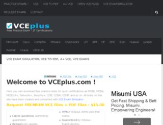 vceplus.com screenshot