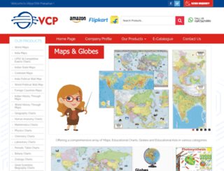 vcpmaps.com screenshot