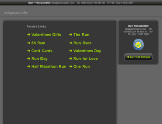 vdayrun.info screenshot