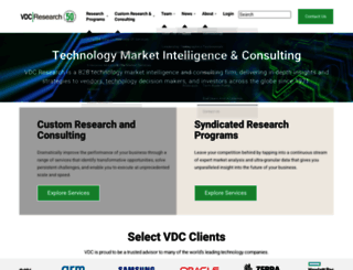 vdcresearch.com screenshot