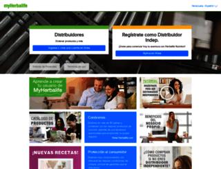ve.myherbalife.com screenshot