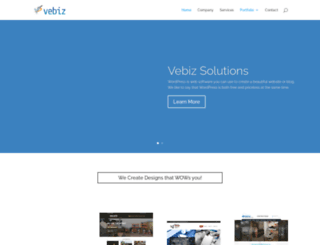 vebizsolutions.com screenshot