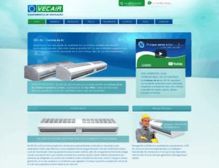 vecair.com.br screenshot