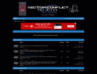 vectorgaming.proboards.com screenshot