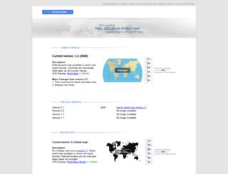 vectorworldmap.com screenshot