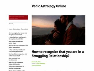 vedicastrologyonline.wordpress.com screenshot