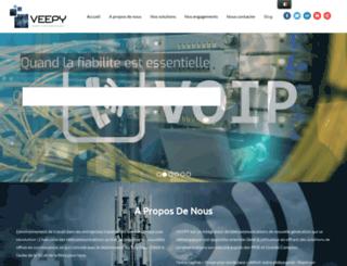 veepy.com screenshot