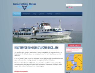 veerboot.info screenshot
