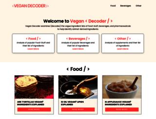 veganculinarycrusade.com screenshot