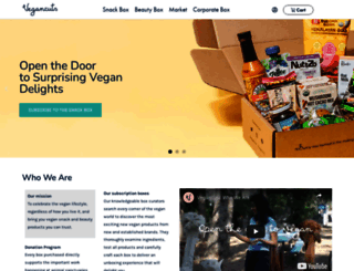 vegancuts.com screenshot