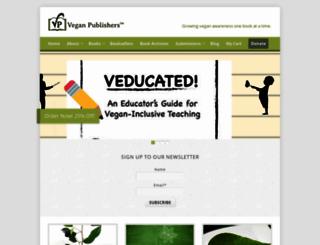 veganpublishers.com screenshot