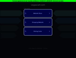 vegascart.com screenshot