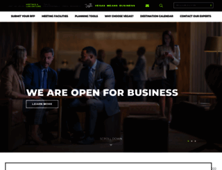 vegasmeansbusiness.com screenshot