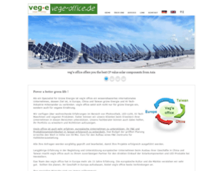 vege-office.de screenshot