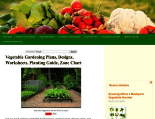 vegetable-gardening-online.com screenshot