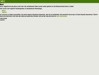 veggiecommunity.org screenshot