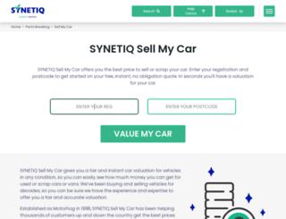 vehicles.motorhog.co.uk screenshot