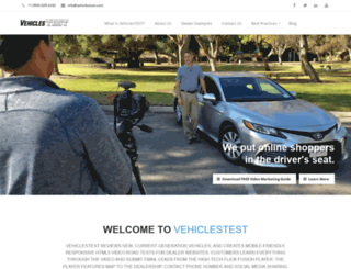 vehiclestest.com screenshot