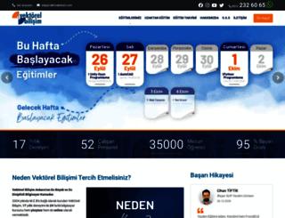 vektorelbilisim.com screenshot