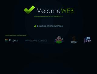 velameweb.com.br screenshot