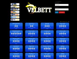 velbett.com screenshot