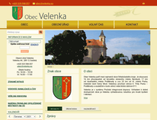 velenka.cz screenshot