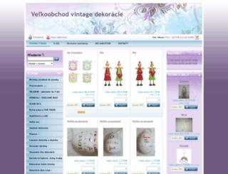 velkoobchod-dekoracie.sk screenshot