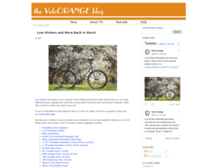 velo-orange.blogspot.com screenshot