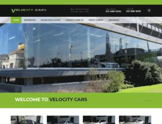 velocitycars.co.za screenshot