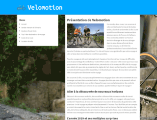 velomotion.ca screenshot