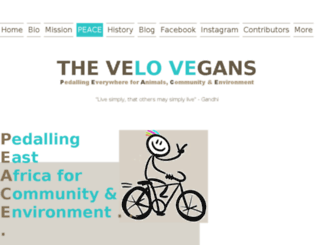 velovegans.com screenshot
