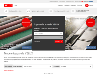 veluxshop.it screenshot
