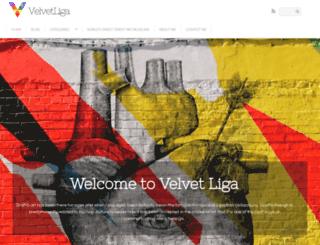 velvetliga.com screenshot