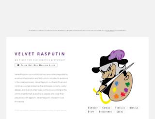 velvetrasput.info screenshot