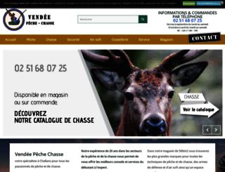 vendee-peche-chasse.fr screenshot