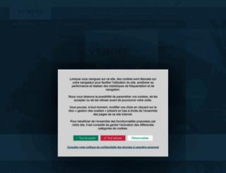 vendee-tourisme.com screenshot