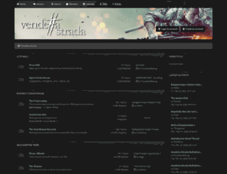vendetta-strada.net screenshot