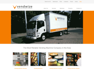 vendwize.com screenshot