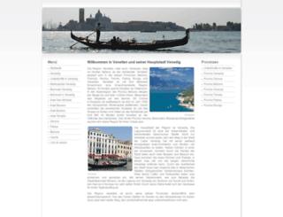 venedig-venetien.de screenshot