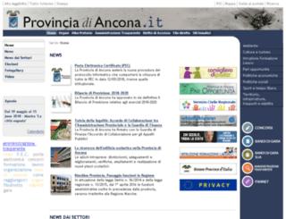 venere.provincia.ancona.it screenshot