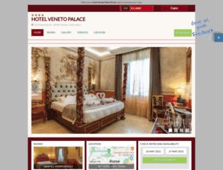 veneto.hotelinroma.com screenshot