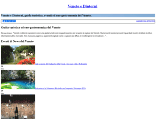 venetoedintorni.it screenshot