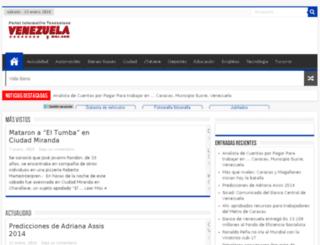 venezuelaymas.com screenshot