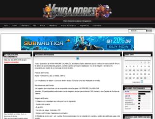 vengadores.huhohi.com screenshot