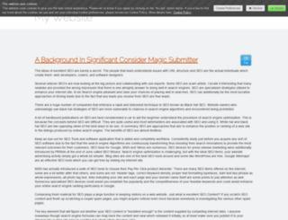 vengefultenant125.jimdo.com screenshot