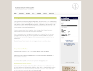 venicebeachbungalows.com screenshot
