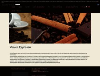 veniceespresso.eu screenshot
