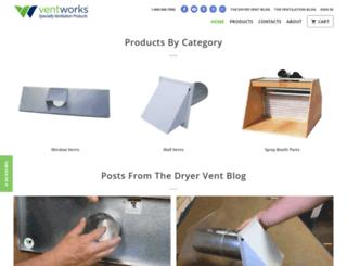 vent-works.myshopify.com screenshot