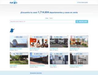 venta-casas.nuroa.com.mx screenshot