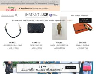 ventes.instantluxe.com screenshot